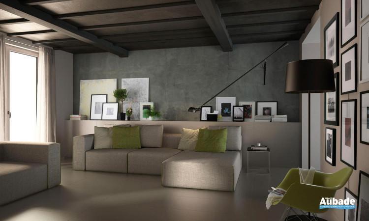 Carrelage sol intérieur grès de cérame sobre Studio de Lafaenza