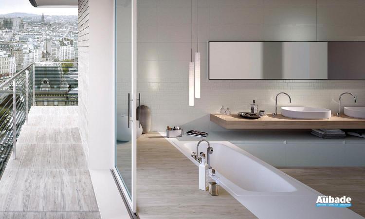 Carrelage imitation parquet pour sol intérieur Wood de Imola