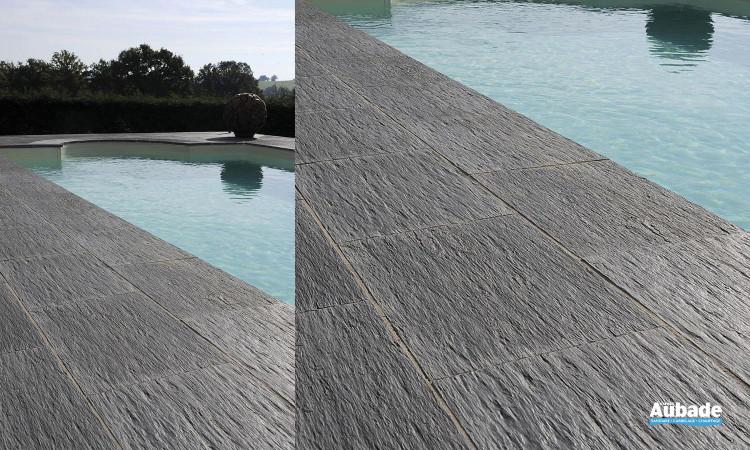 Carrelage sol extérieur en pierre naturelle Ardoisière de Pierra