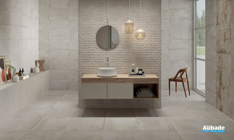 Collection Materia par Ceramiche Piemme en coloris Nacre
