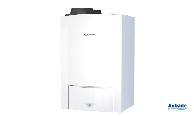 Chaudière murale à condensation avec pompe à chaleur eau et air Égalis / Mégalis Condens Hybride de Elm Leblanc