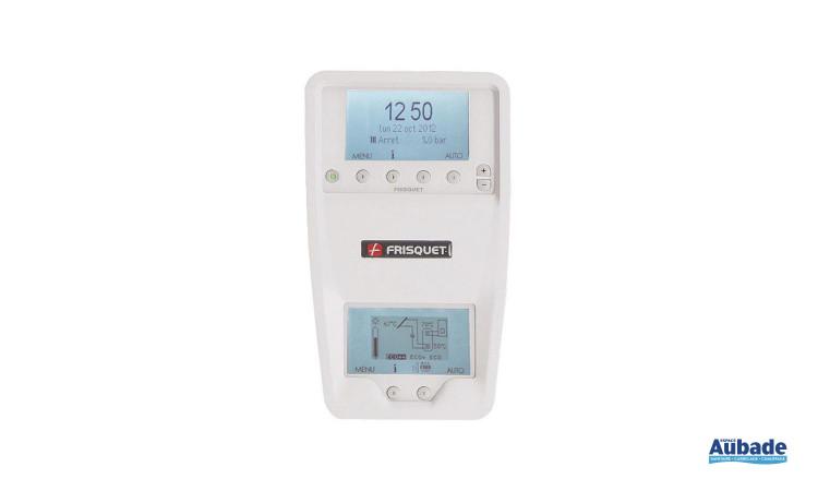 Thermostat simple d'utilisation avec chaudière Hydroconfort Solaire de Frisquet