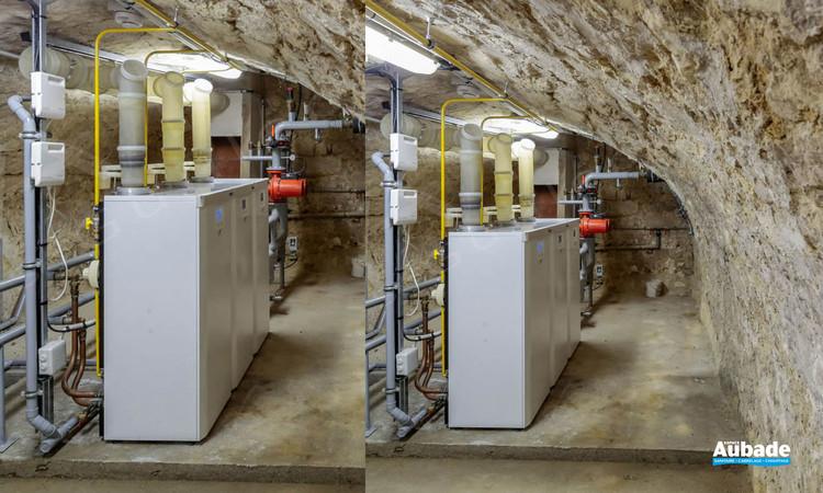 Chaufferie au sol Condensation Visio de 57 à 270 kW