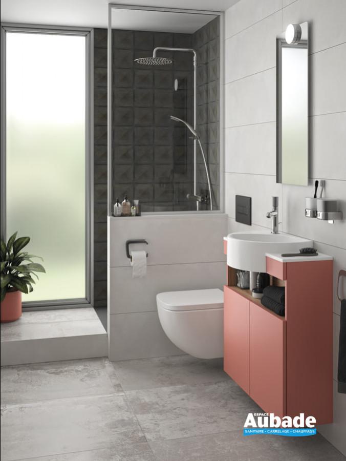 Salle de bains inspiration Modernité Fonctionnelle de Delpha