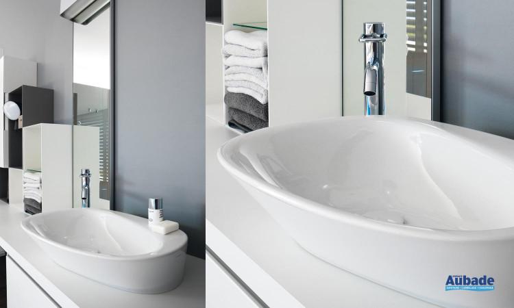 lavabo à poser sur meuble Palomba de Laufen