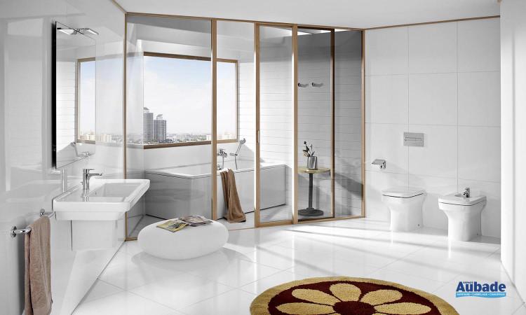 salle de bains Dama-N de Roca lavabo et WC, bidets porcelaine