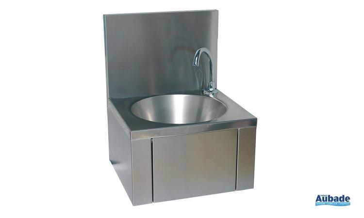 Lave-mains collectif en inox Franke