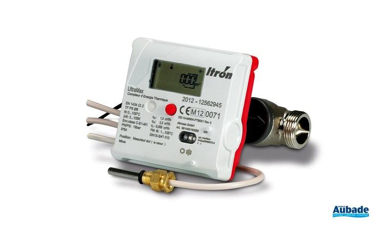 Compteur d'énergie thermique pour logement Ultramax Mbus d'Itron