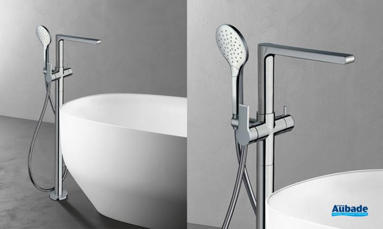 Mitigeur bain/douche sur pied Delta de Cristina