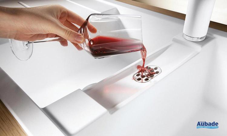 Evier en cristalite moderne Blanco Metra 8 S de Blanco