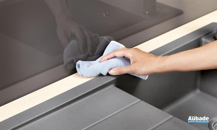évier sous meuble BlancoMevit XL 6S coloris gris