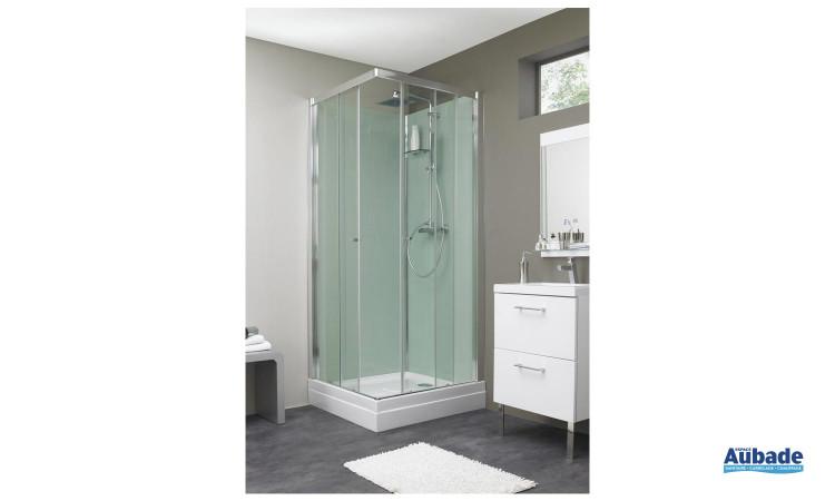 Cabine de douche Eden avec grand robinet