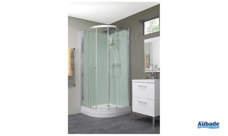 Cabine de douche Eden avec effet de pluie tropicale