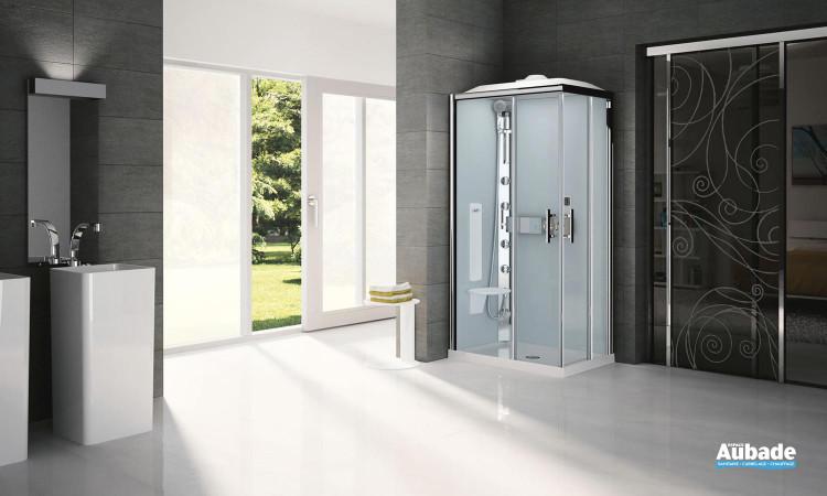 Cabine de douche complète Glax de Novellini pour des instants détente