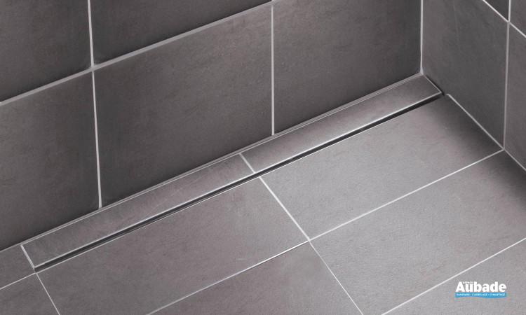 Caniveau design Rivage de Limatec idéal pour vos douches à l'italienne