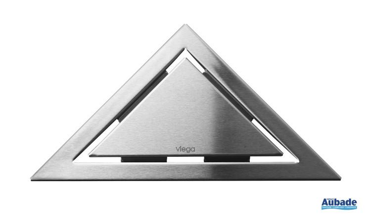 Siphon et rigole design collection Visign de Viega modèle triangle design
