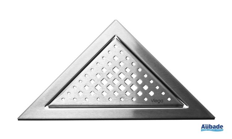 Siphon et rigole design collection Visign de Viega modèle triangle