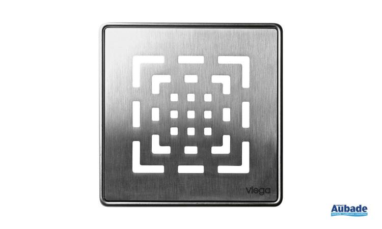 Siphon et rigole moderne collection Visign de Viega modèle carré