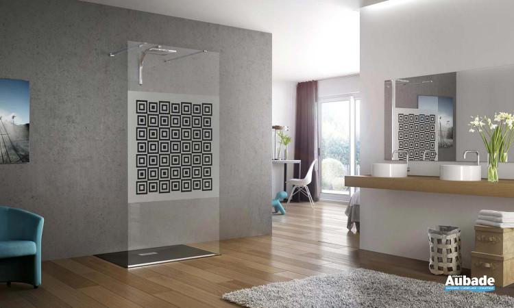 paroi de douche avec renfort au choix Kinedo Kinespace ouvert