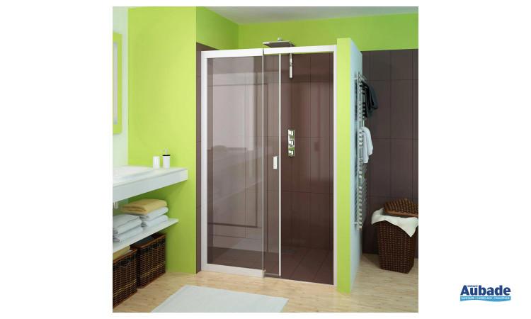 paroi de douche Smart avec porte pivotante