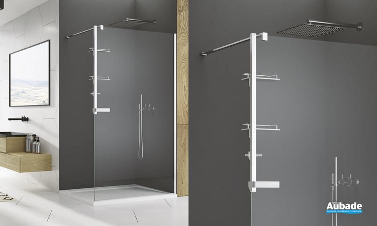 Kit d'accessoires pour paroi de douche walk-in de SanSwiss