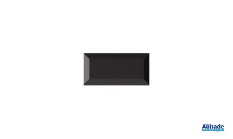 Carrelage Faïence Carometro coloris noir brillant