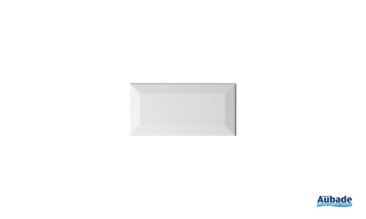 Carrelage Faïence Carometro coloris blanc brillant