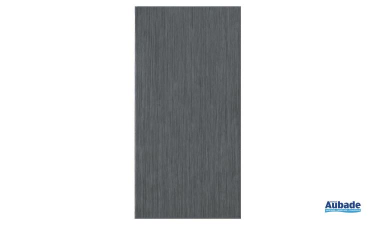 Carrelage Faïence Blown coloris gris foncé