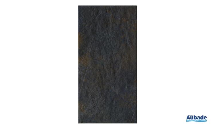 Carrelage Faïence Nordkapp coloris gris foncé