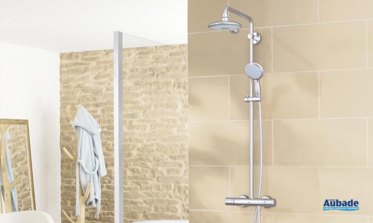 Colonne de douche avec douchette 2 jets Power & Soul Classique de Grohe