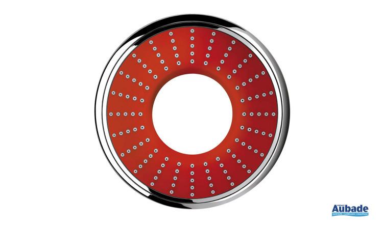 Douchette à main Rainshower Water Colors Collection de Grohe coloris rouge
