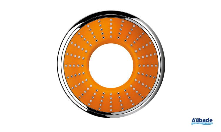 Douchette à main Rainshower Water Colors Collection de Grohe coloris orange
