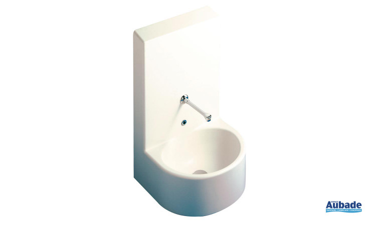 lave-main pour collectivité avec dosseret  d'Allia