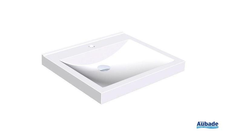 Tablette lavabo Quadro en résine synthétique MIRANIT de Franke