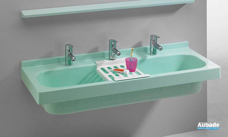 Lavabo collectif Rigole RoMex disponible en 3 coloris de Romay