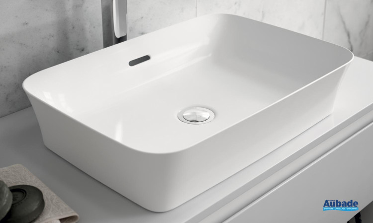 Lavabo vasque rectangulaire Ipalyss Ideal Standard blanc