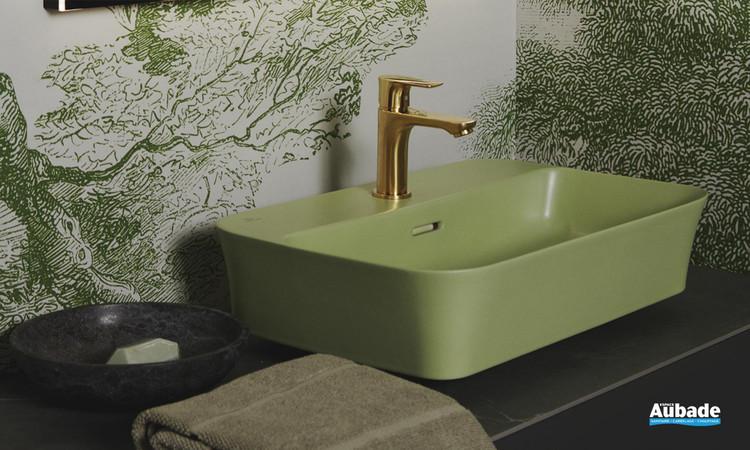 Vasque à poser Ipalyss Vert 55 x 38 cm d'Ideal Standard