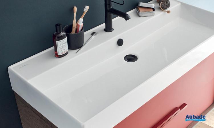 Vivienne vasque à poser ou plan vasque de Jacob Delafon