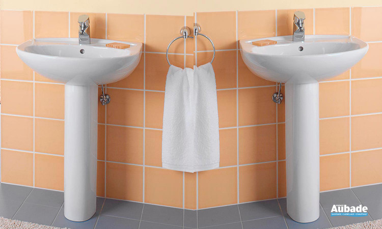 lavabo colonne blanc Villeroy & Boch