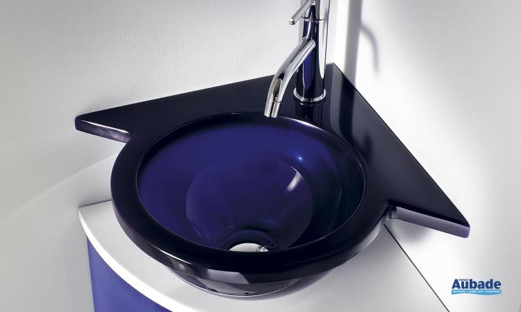 Lave-mains en résine translucide de Decotec