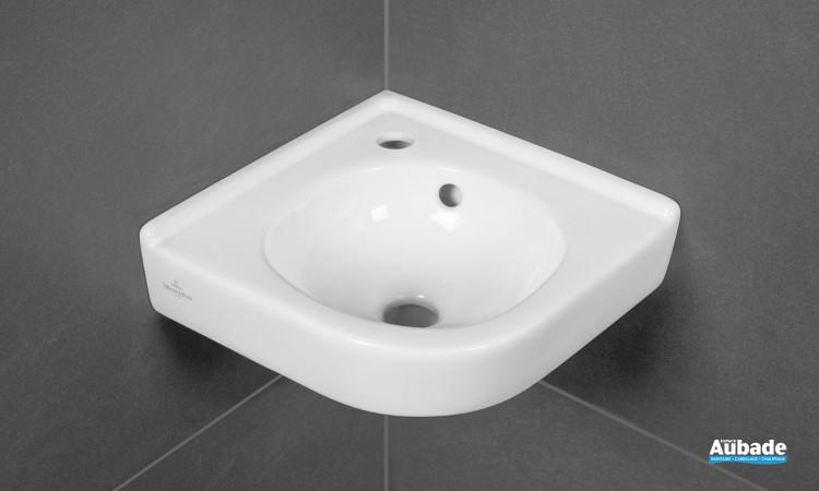 Lave-mains d'angle Villeroy & Boch O.novo