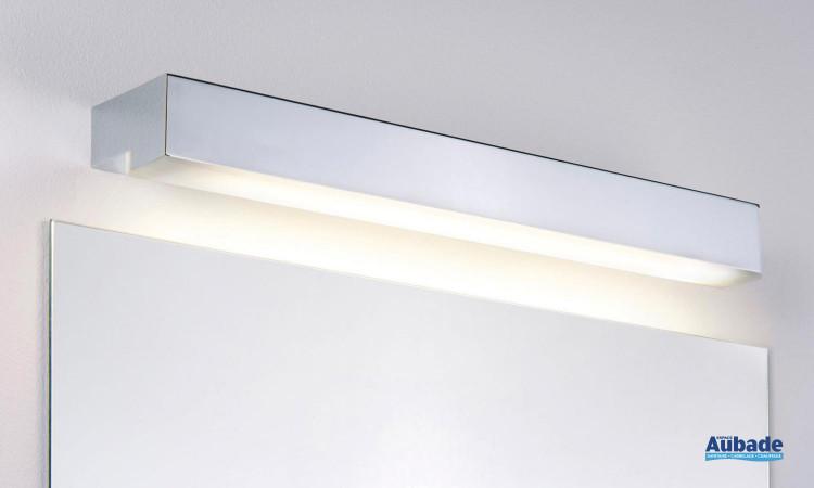 Réglette design finition chromée et blanche Taru de Paulmann