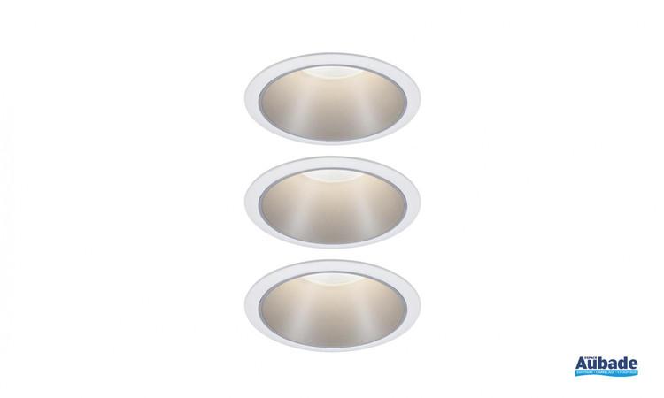 luminaires paulmann cole coin