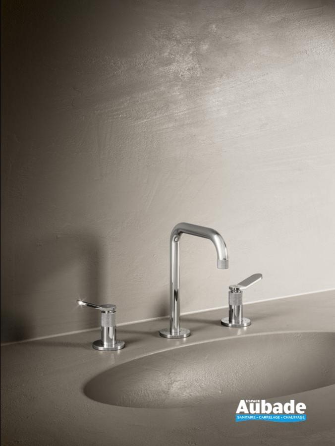 Mélangeur lavabo 3 trous haut East Side de Cristina