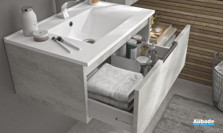 meuble salle de bain cedam ten
