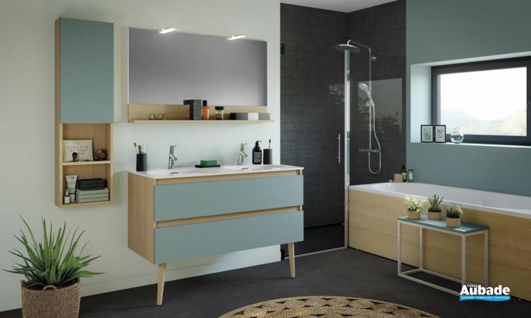meuble salle de bain delpha delphy intuitive120 vert aloe