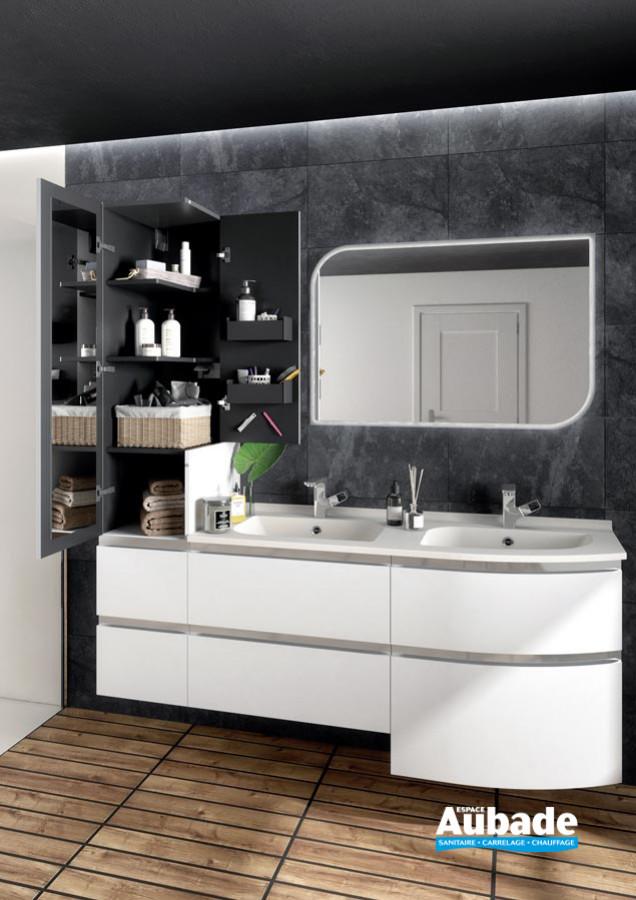 Meuble de salle de bains Aviso d'Ambiance Bain - Ouvert
