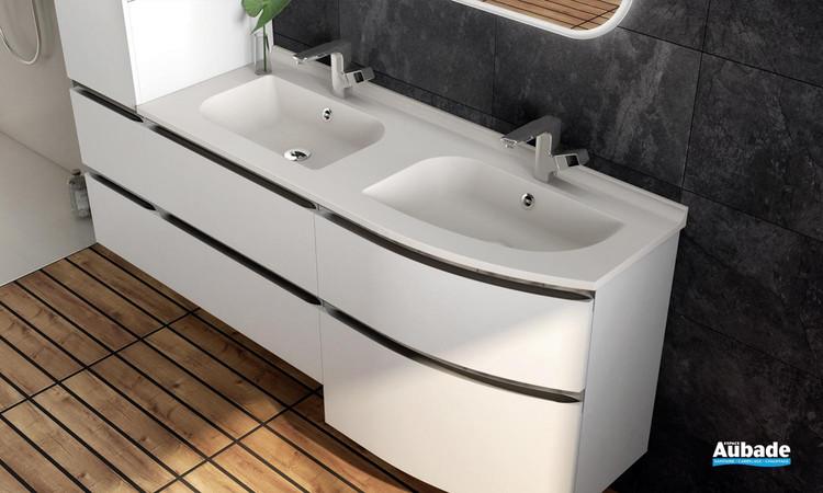 Zoom meuble de salle de bains Aviso d'Ambiance Bain