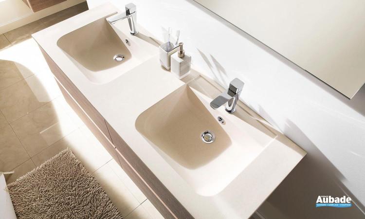Meuble de salle de bains double vasque Ketty d'Ambiance Bain