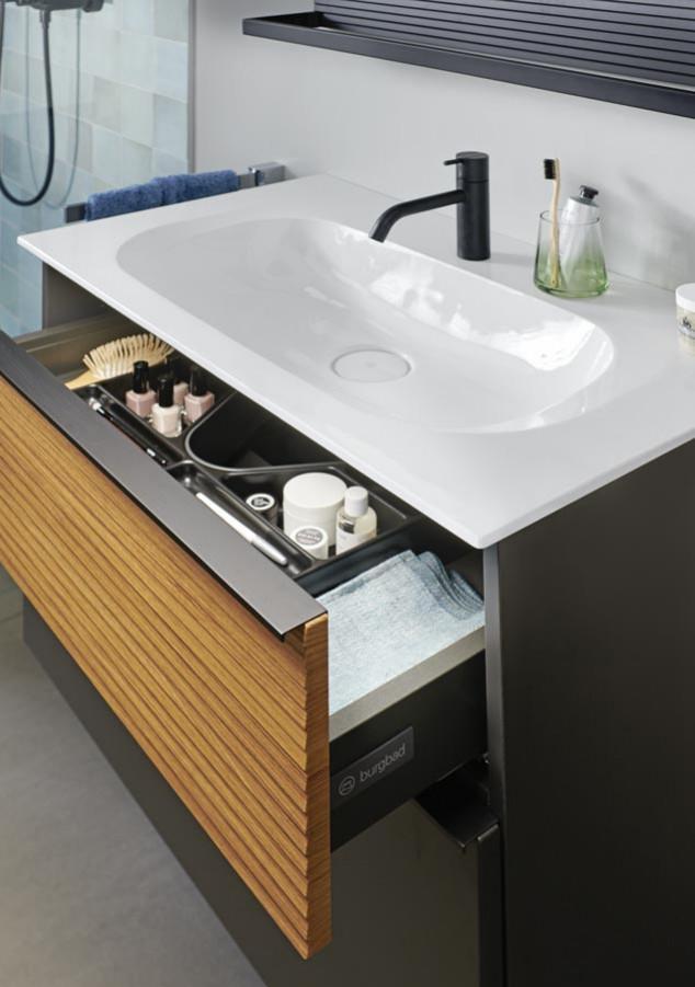 Zoom meuble de salle de bains Fiumo de Burgbad 1
